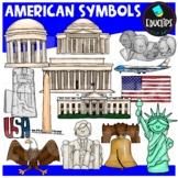 American Symbols Clip Art Bundle