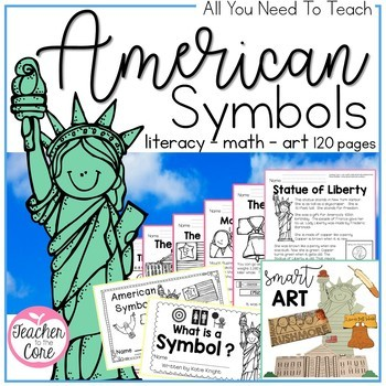 American Symbols {BUNDLE} Informational Reading, Art, and so much more