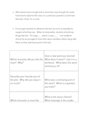 """Amigo Brothers"" Discussion Cards, Comprehension Questions"