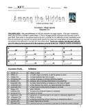 Among the Hidden - Haddix - Complete Literature Unit - 32 Pages!!