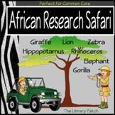 An African Animal Research Safari