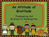 An Attitude of Gratitude Common Core Aligned Thanksgiving Unit