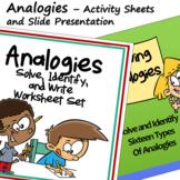 Analogies 1 - Six Types of Analogies