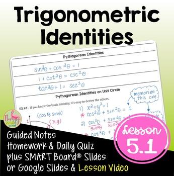 PreCalculus: Analytic Trigonometry (Unit 5) Fundamental Id