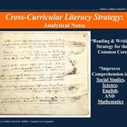 Analytical Notes: A Cross-Curricular Strategy (Template &