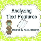 Analyzing Text Features