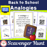 Analogies for Back to School with and without QR Codes