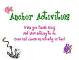 Anchor Activities