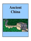 Ancient China, Activities and Worksheets