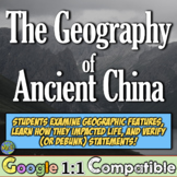 Ancient China Geography:  The environment, settlement, & f