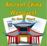 Ancient China Webquest/Internet Worksheet