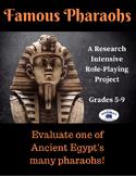 Ancient Civilizations - Egypt - Famous Pharaohs Research P