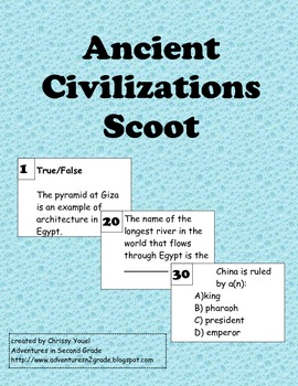 Ancient Civilizations Scoot