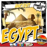Ancient Egypt Activity and Note Bundle Common Core Grades 5-8