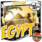 Ancient Egypt Activity and Note Bundle Common Core Grades 5-8