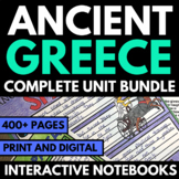 Ancient Greece: Interactive Notebook