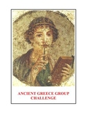 Ancient Greece: Group Challenge Activity