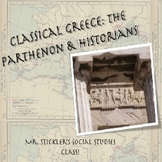 """Ancient Greece: Parthenon Interactive tour and Greek Hist"