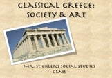 """Ancient Greek Life and Art: Statues and Society"" PowerPoint"