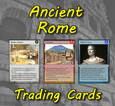 Ancient Rome Trading Cards  (Roman History)
