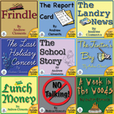 Andrew Clements School Themed Novel Unit CD Bundle~ Common