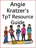 Angie Kratzer's TpT Product Guide