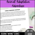 Animal Adaptation Adventure