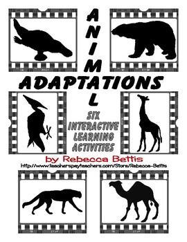 Animal Adaptations: 6 Interactive Learning Activities