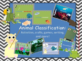 Animal Classification: Activities, Crafts, Writing, and More!
