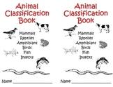 Animal Classification Mini Book 2nd/3rd