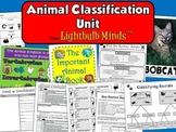Animal Classification Unit from Lightbulb Minds