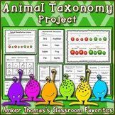 Animal Classification: Vertebrate and Invertebrate Taxonom