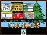 Animal Food Chains and Biomes Promethean ActivInspire Flip