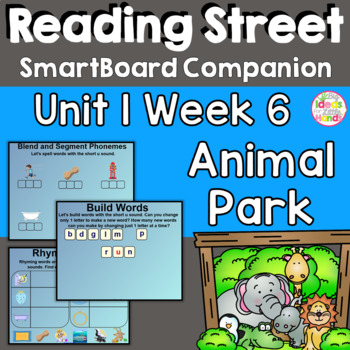 Animal Park SmartBoard Companion 1st First Grade
