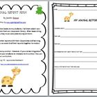 Animal Report FREEBIE! FREE!
