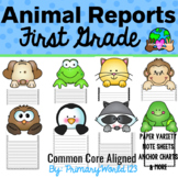 1st Grade Animal Report Informative/Explanatory CCSS