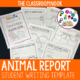 Animal Report Writing Final Draft Template