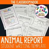 Animal Report Writing Template