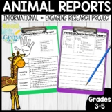 Animal Reports Made Easy: Informational Reading & Writing