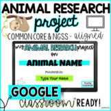 Animal Research Project {Common Core}