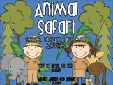 Animal Safari: Science, Literacy, and Math Activities
