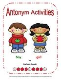 Antonym Activites