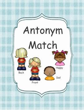 FREE Antonym Match