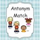 FREE Antonym Match Task Cards