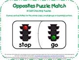 Antonym Puzzle Match-30 Opposite Matches