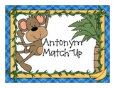 Antonyms - Match-Ups with Monkeys