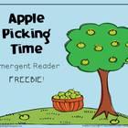 Apple Picking Emergent Reader FREE
