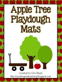 Apple Tree Playdough Mats