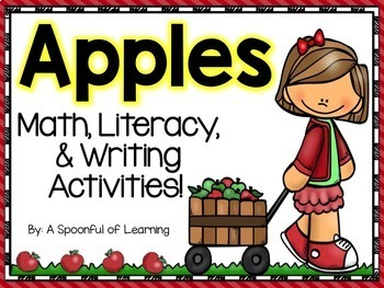 Apples! Math, Literacy, & Writing Activities!