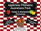 Applicious Phonemic Awareness Pack:  Delete and Manipulate